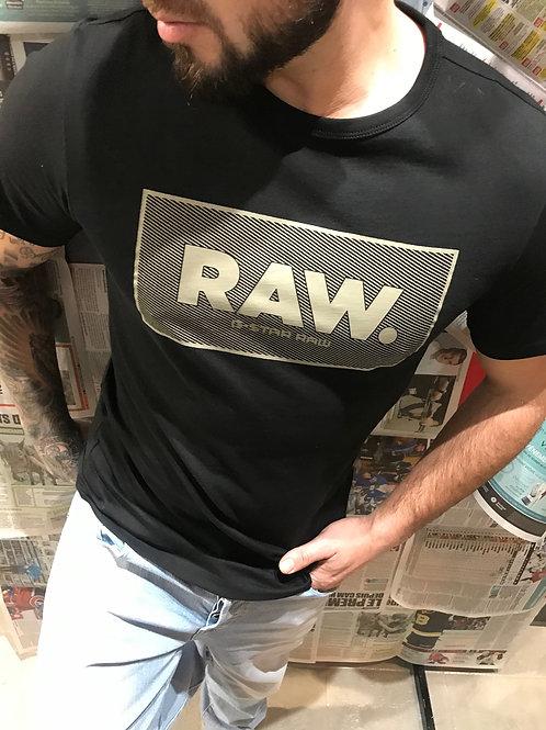 T-shirt noir et kaki G-Star