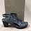 Thumbnail: Sandale bleue fleurie  BOUSSOLA