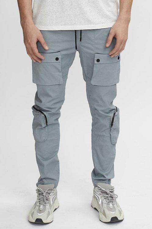 Pantalon utilitaire gris pâle Kuwalla Tee