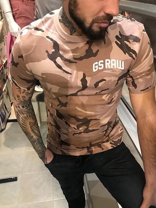 T-shirt camo marron  G-Star