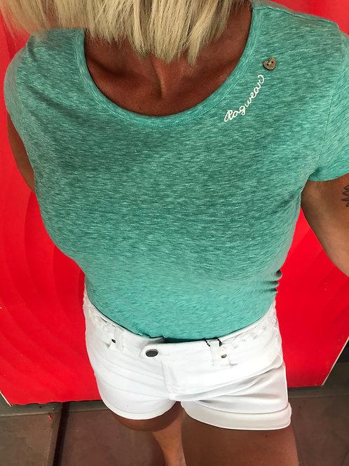 T-shirt turquoise Ragwear