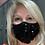 Thumbnail: Masque noir à paillettes