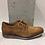 Thumbnail: Chaussure tan en cuir style croco MJUS