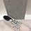 Thumbnail: Chaussure grise pâle en tissu BOXFRESH