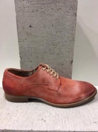 Chaussure rouge en cuir délavé NOBRAND