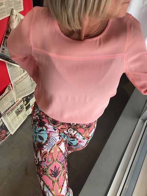 Haut rose léger Garcia Jeans