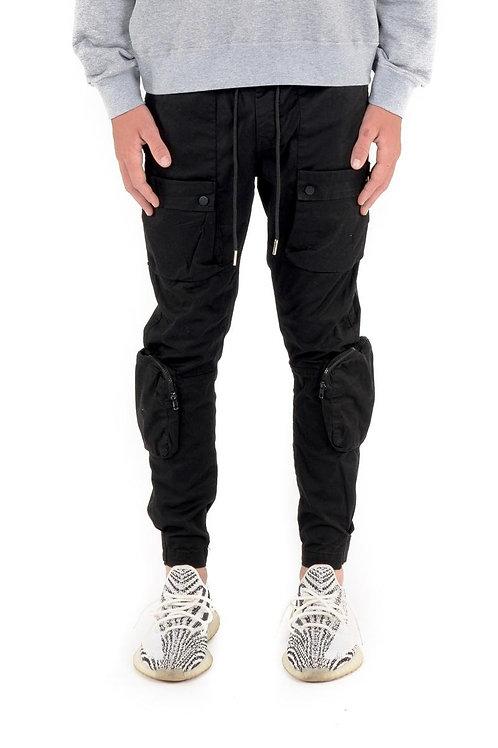 Pantalon utilitaire noir Kuwalla Tee