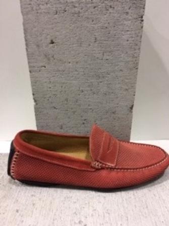Chaussure rouge en suède INTERLAND