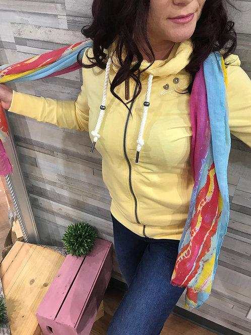 Veste à capuchon jaune Ragwear style Paya