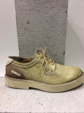 Chaussure beige en cuir BUNKER