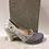 Thumbnail: Escarpin gris 2 tons en cuir HOLD BUTTON