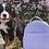 Thumbnail: Mini sac à dos Charlie lilas par Lambert
