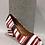 Thumbnail: Sandale rayée rouge et blanche Only