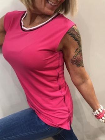 Camisole rose fushia  Comma