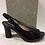 Thumbnail: Sandale noire en cuir vernis PICCADILLY