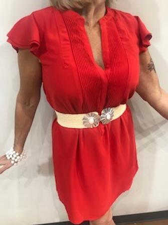 Robe rouge  Molly Bracken