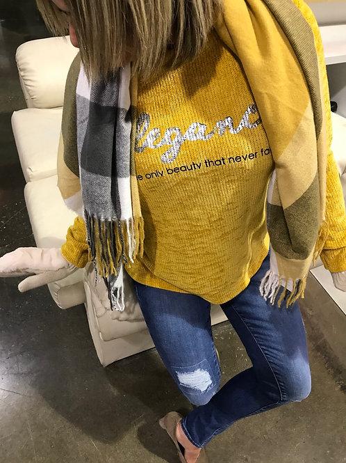 Haut côtelé velours jaune COLLECTION ITALIENNE