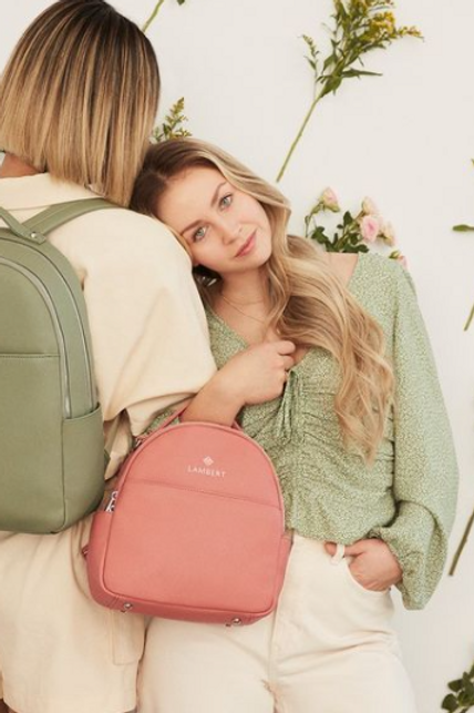 Mini sac à dos Charlie blossom par Lambert