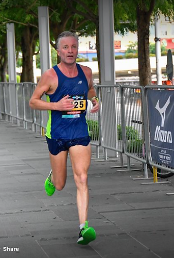 Dave West Managing Director and competitive athlete