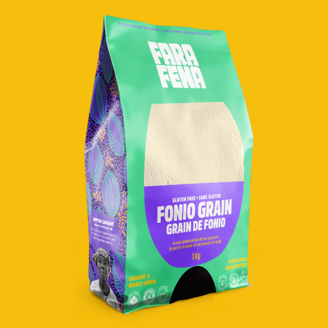 If you haven't cooked with fonio you're missing ouu-uut. Very special pantry staple from a very special company.