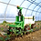 Naio Oz small agriculture robot weeding in greenhouse