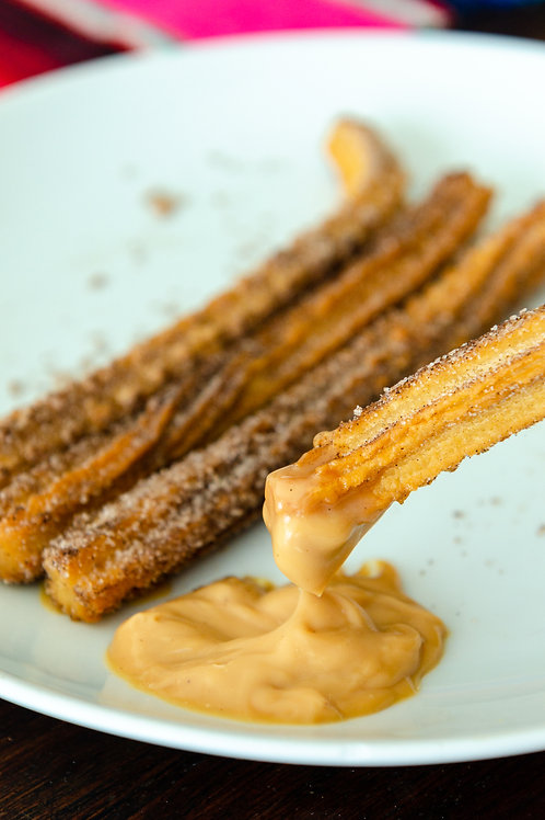 Churros do Chaves com Doce de Leite