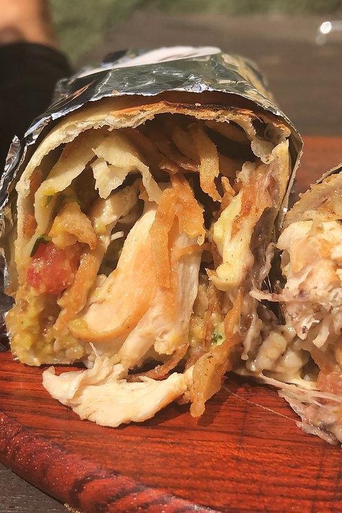 Burrito Pollo Loco(Frango) Almoço