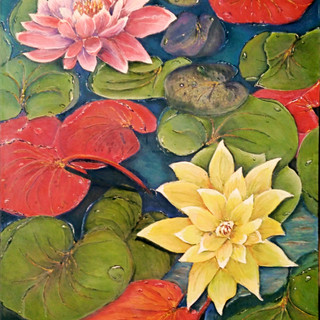 Lilies on the Pond