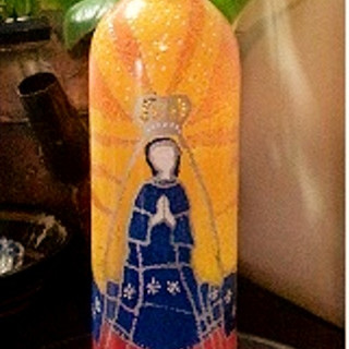 Bottle #3 Virgen Mari
