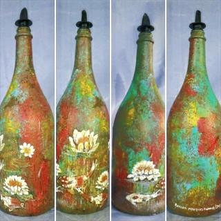 Bottle #6 Pond in the bottle