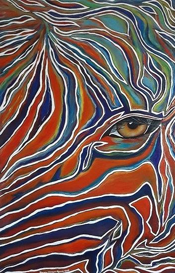Feeling of Africa - Zebra