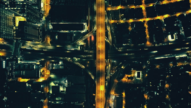 top-down-night-city-traffic-highway-aeri