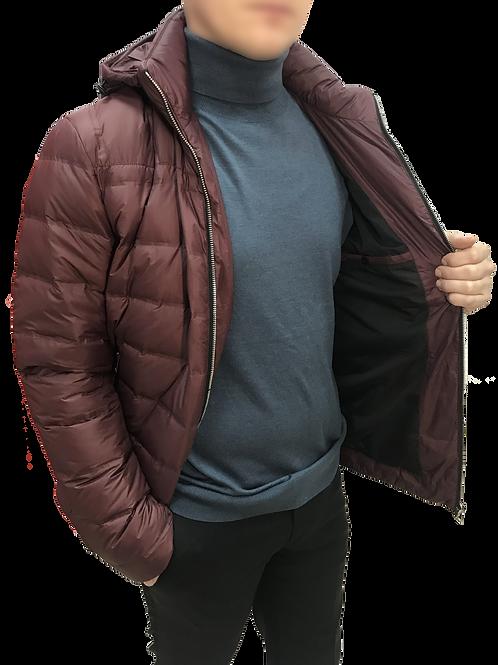 Стеганная куртка на пуху