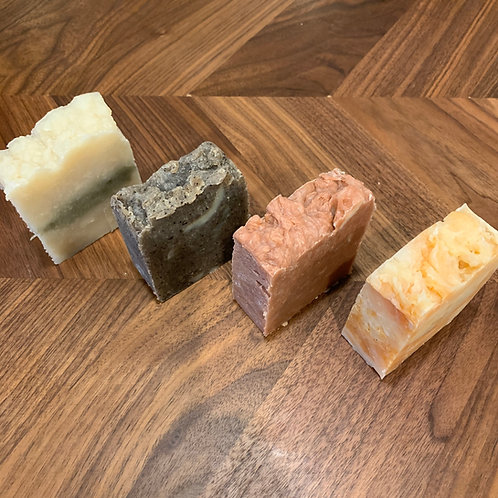 Variety Shampoo Bar 4 Pack