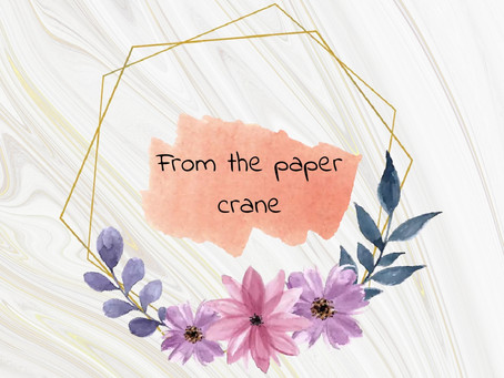 From the paper crane