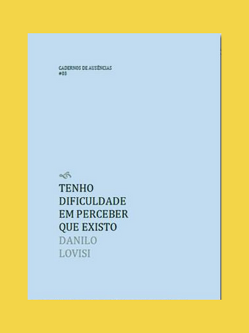 Edições Macondo - Coleção Cadernos de Ausência
