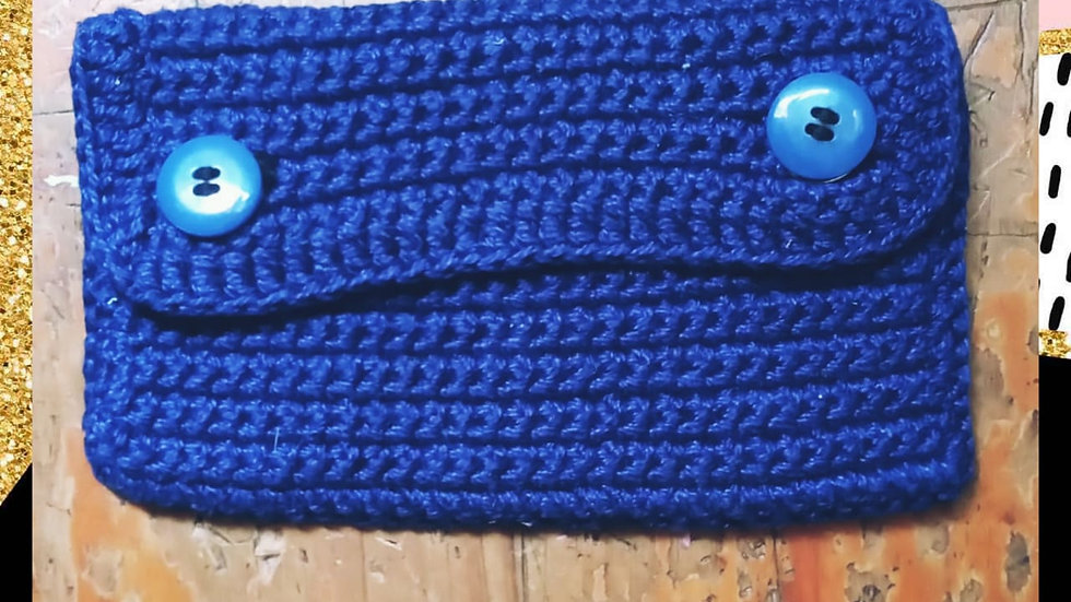 Carteira Crochet