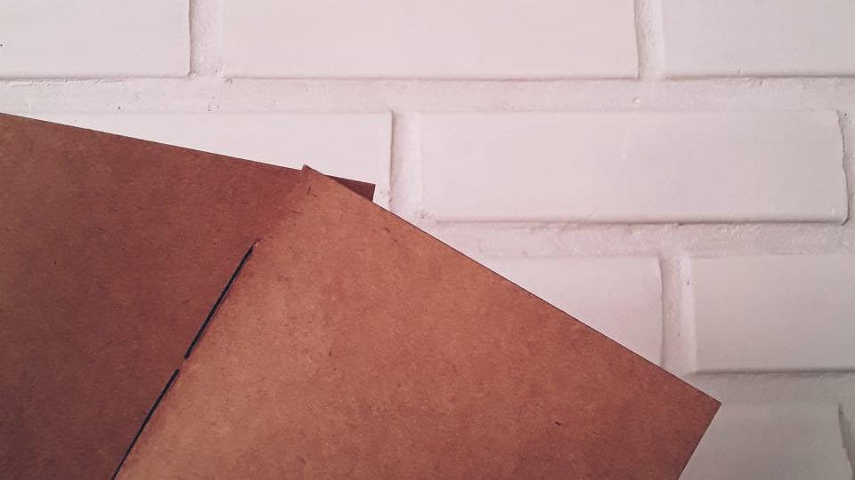 Caderno - Kraft Básico