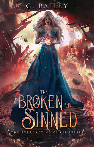 1 The Broken and Sinned front cover for