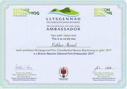 Ambassador Certificate - Kathleen