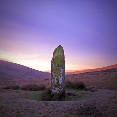Maen Llia in the Brecon Beacons National Park