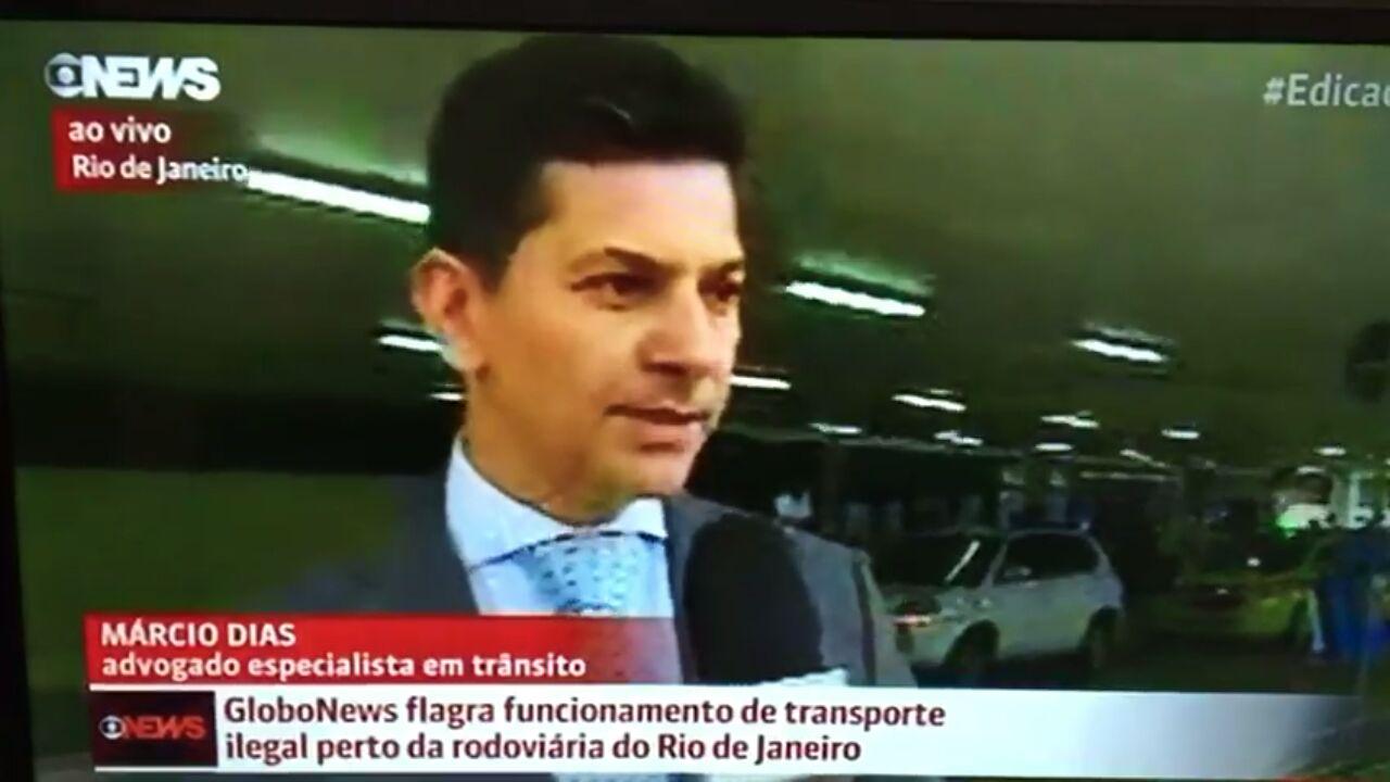 Entrevista a Globo News 27-04-2017
