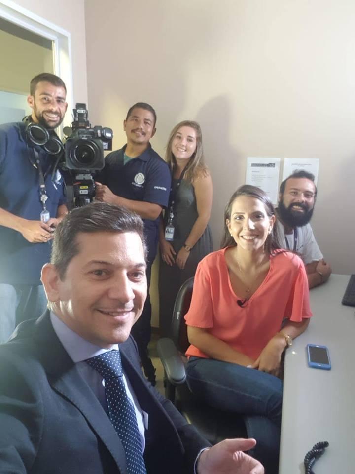 Entrevista a Record - 24-01-2019
