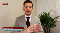 Entrevista a Record Rio - 13-08-2020