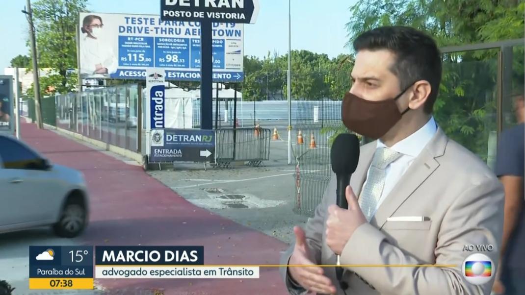 Entrevista ao Bom Dia Rio - 10-08-2020