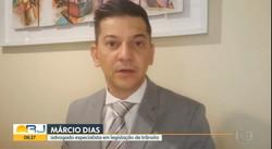 Entrevista ao Bom Dia Rio - 09-03-2021