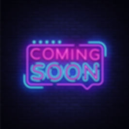 Coming Soon Neon Light