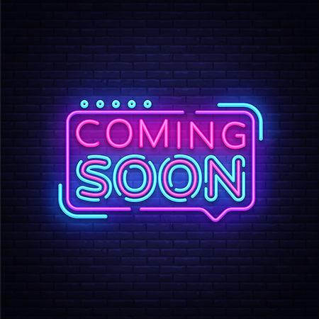Coming Soon Neon Light