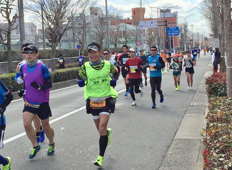 京都マラソン2018でのサポート