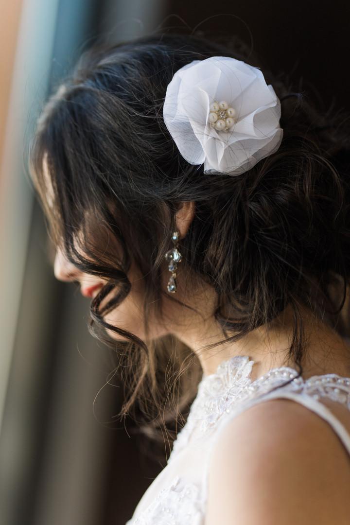 Hair set & earings